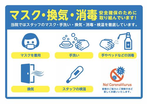 新型コロナウイルス対策