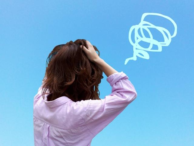 自律神経失調症に苦しむ女性